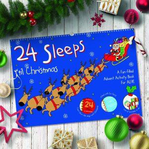 24 sleeps til christmas activity book