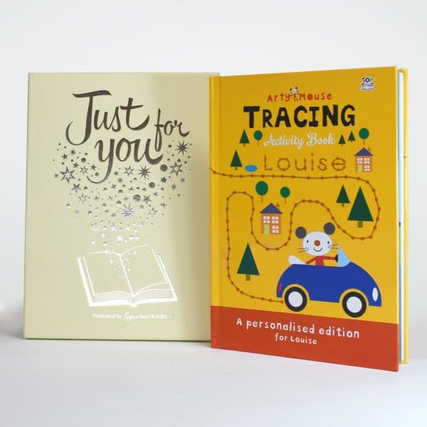 arty mouse tracing gift box