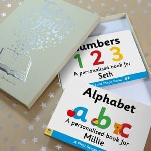 first step alphabet numbers set