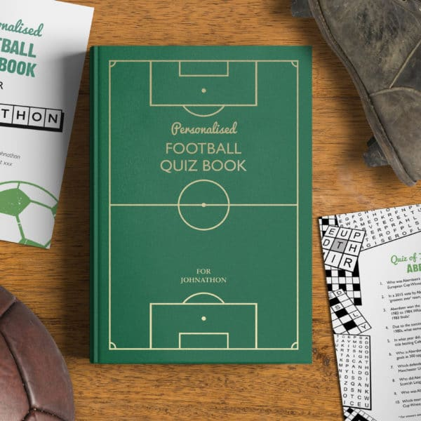 football puzzle book