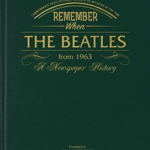 beatles newspaper articles book