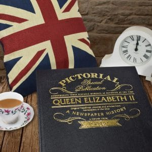 queen elizabeth ii personalised book