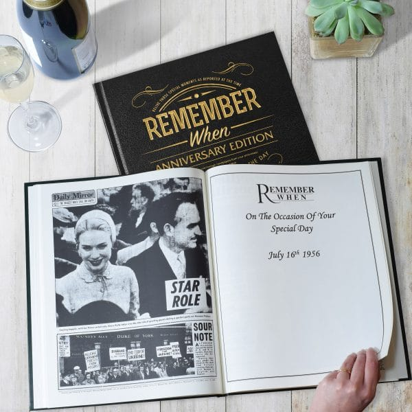 special date anniversary book