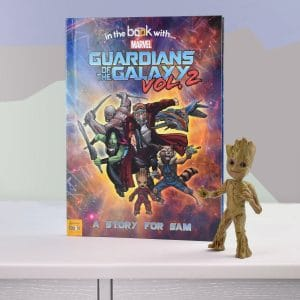 personalised guardians of the galaxy book