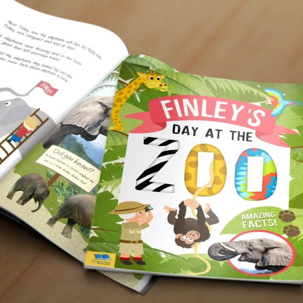day at the zoo book