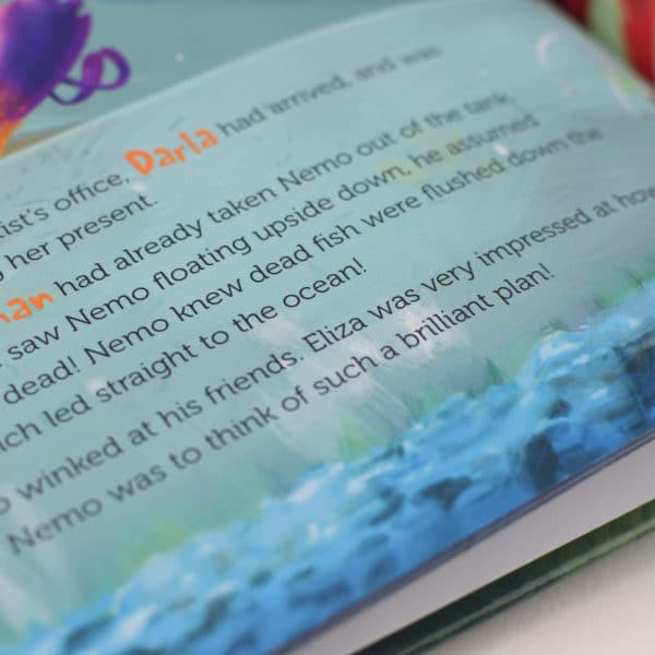 personalised finding nemo book
