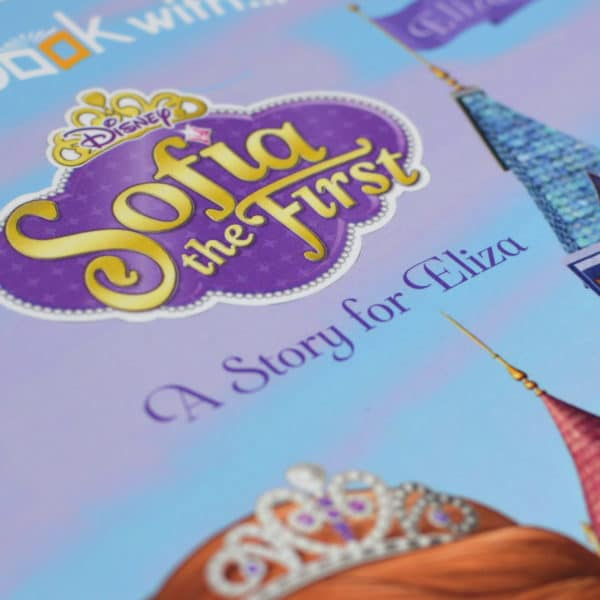 personalised sofia book