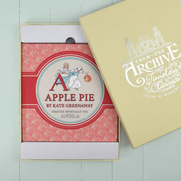 a is for apple pie gift box
