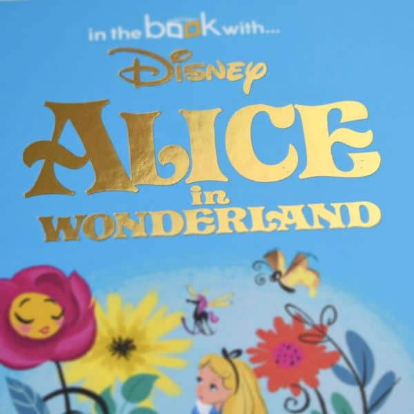 personalised alice in wonderland book
