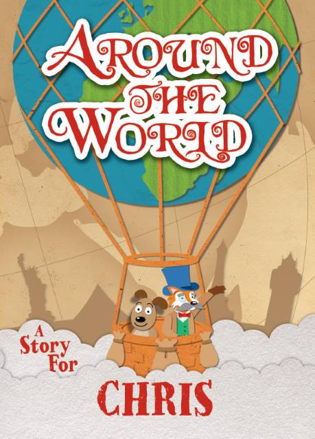 personalised around the world book