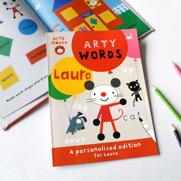 arty mouse words