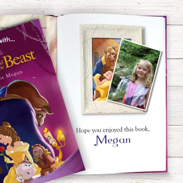 personalised beauty and the beast book