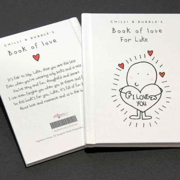 chilli and bubble book of love
