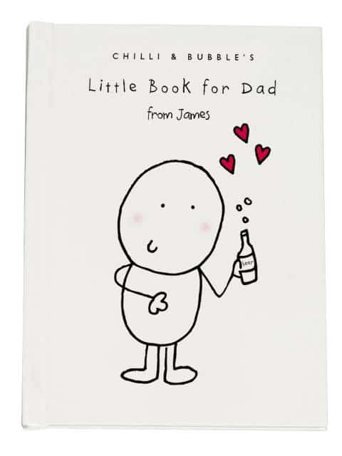 chilli and bubbles little book for dad