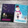 learning the months book