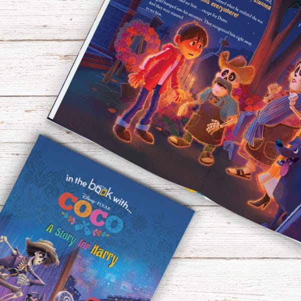 Personalised Disney Coco Book
