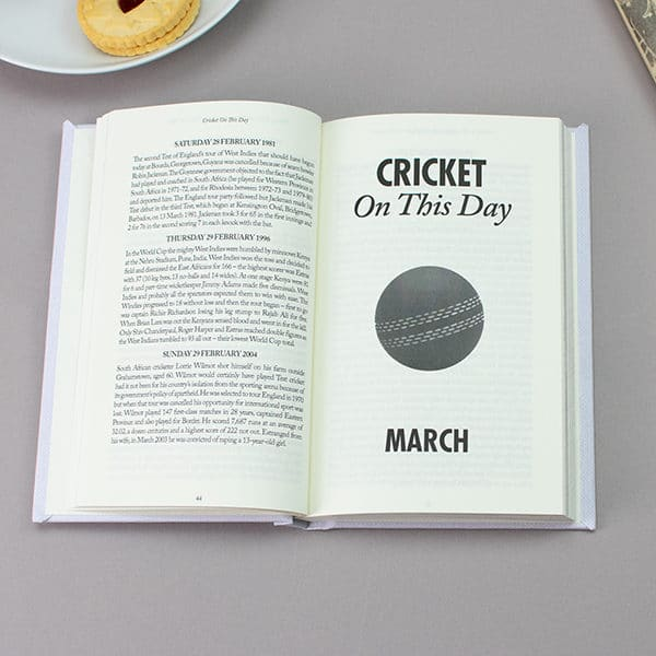 Cricket On This Day Book