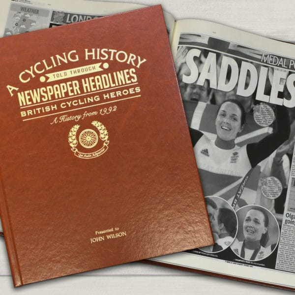 cycling newspaper book
