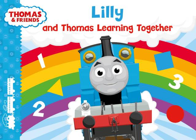 my learning book with thomas the tank engine