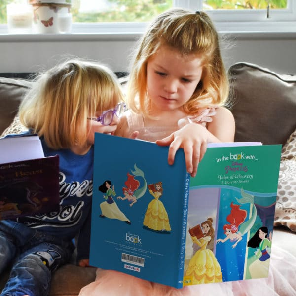 personalised tales of bravery book