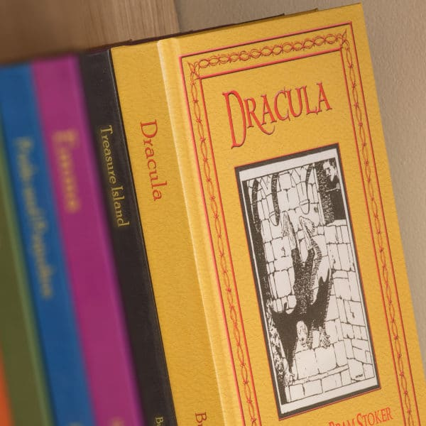 personalised dracula book