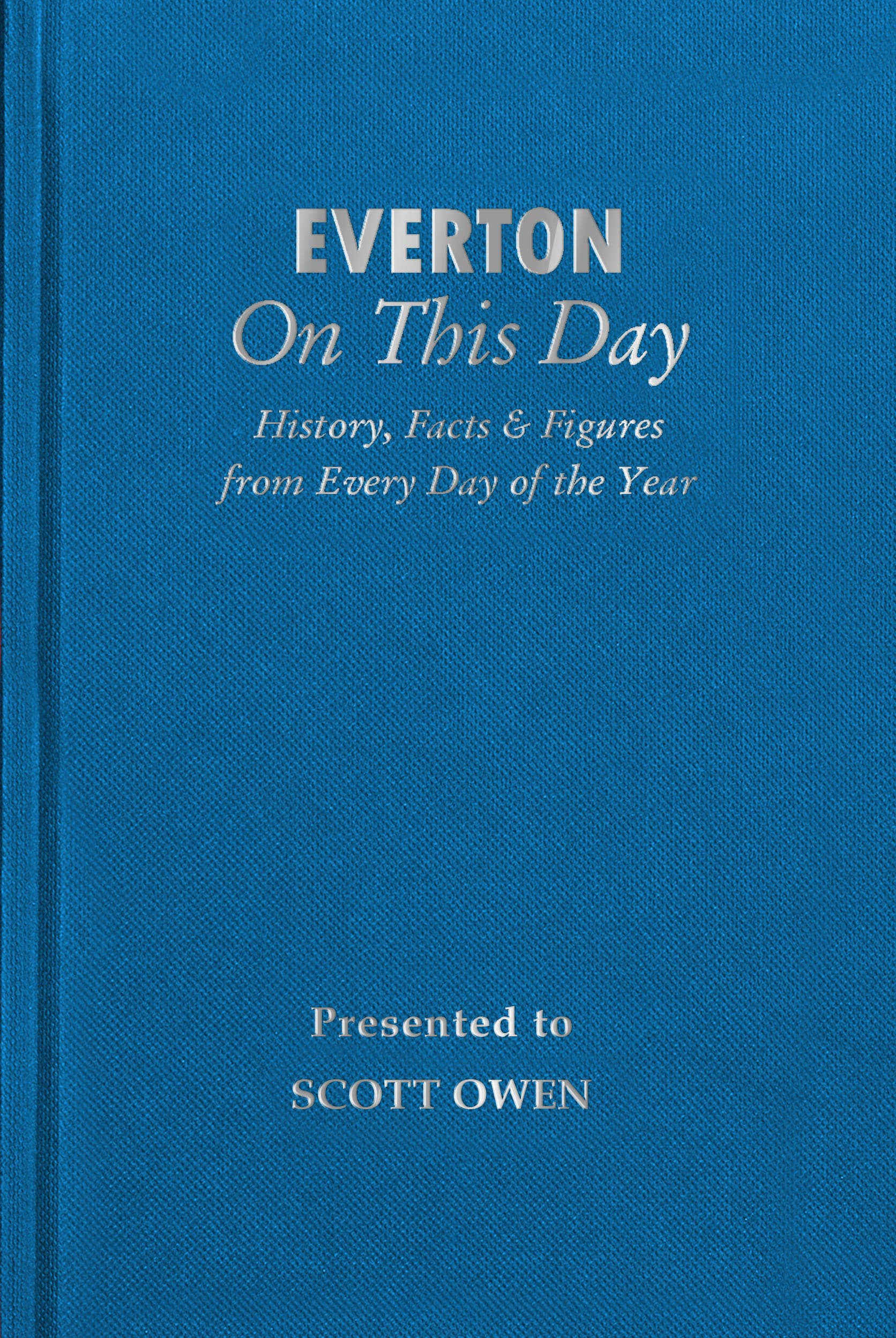 history of everton book
