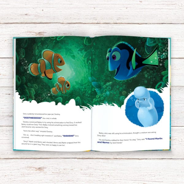 finding dory storybook