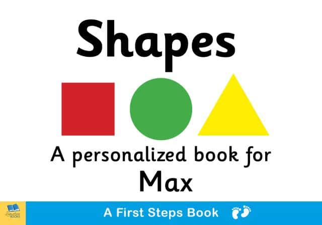 first steps shapes book