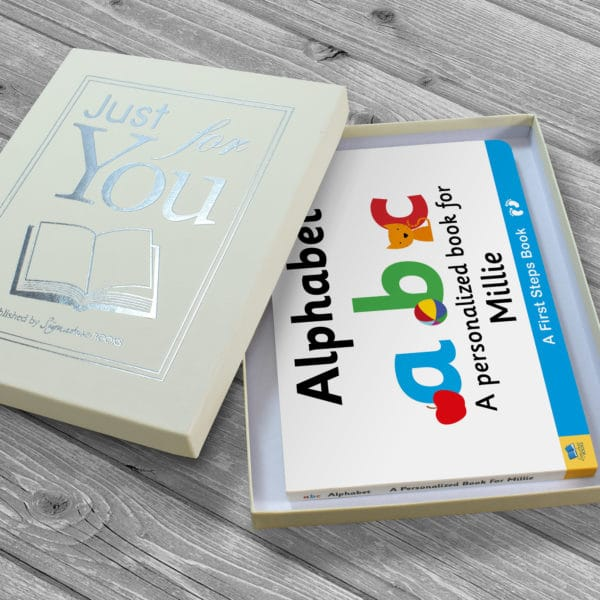 alphabet numbers book