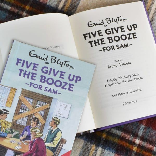 five give up the booze book