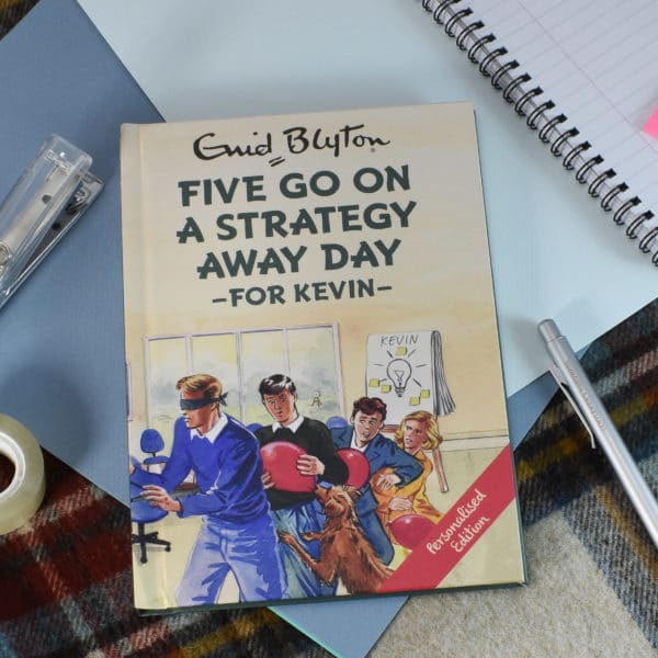 five go on a strategy away day book