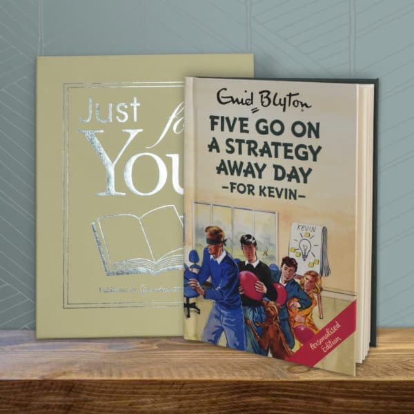 five go on strategy away day book