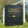 luton town leather football book
