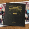 hearts leather football book