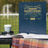 leicester city leather football book