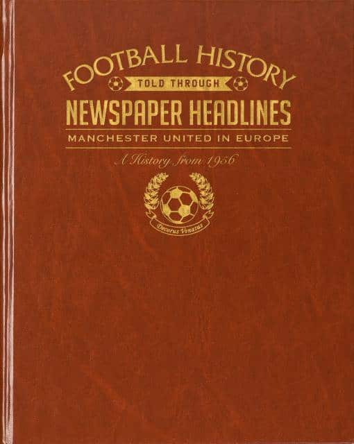 man united in europe football history book