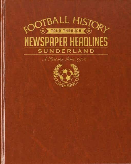 sunderland football history book