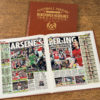 arsenal v spurs leather football book
