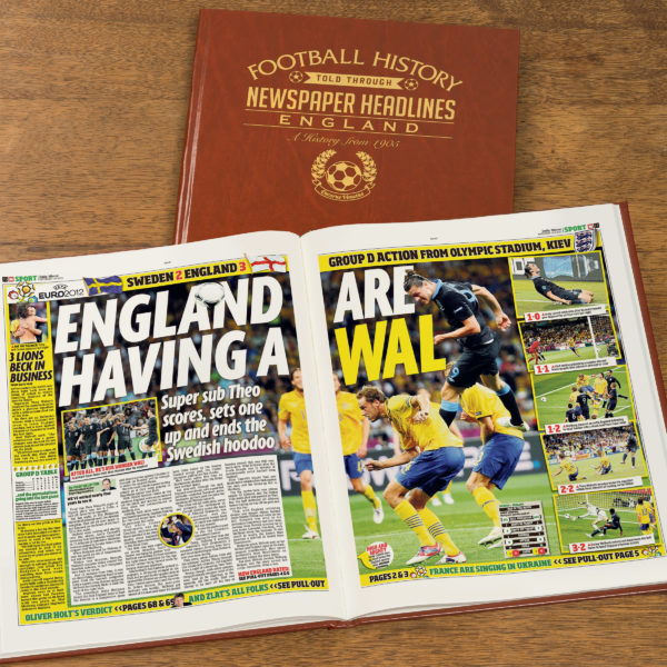 england leather football book