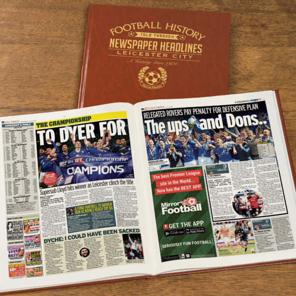 leicester leather football book