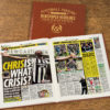 newcastle united leather football book