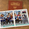 queens park rangers leather football book