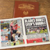sheffield united leather football book
