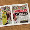 stoke city leather football book