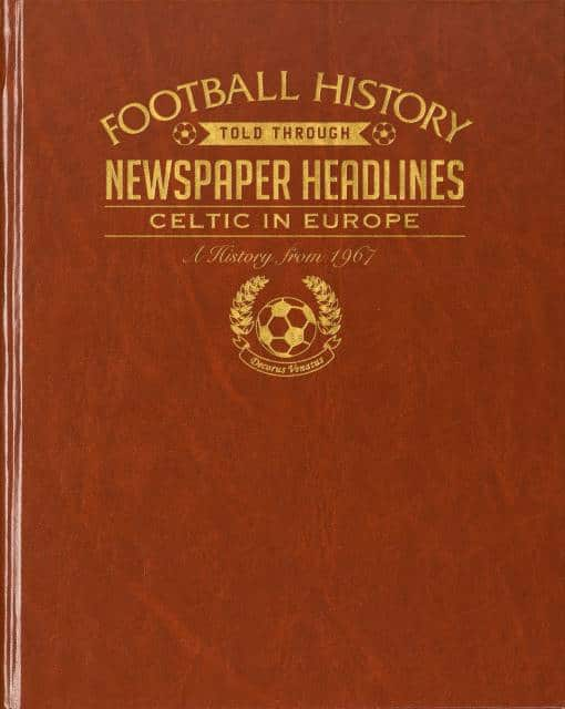 celtic in europe football history book