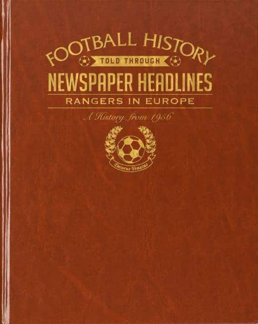 rangers in europe football history book