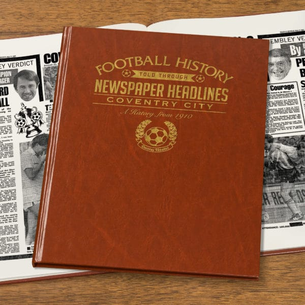 coventry city leather football book