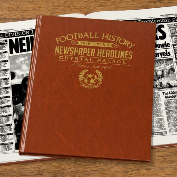crystal palace leather football book