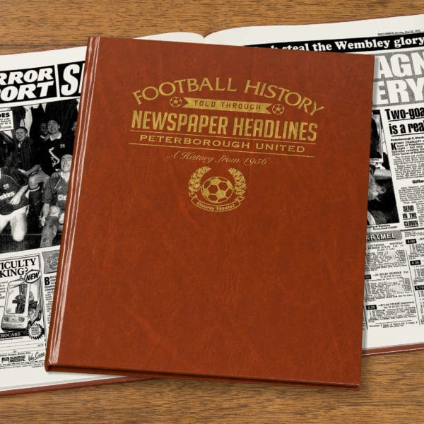 peterborough leather football book