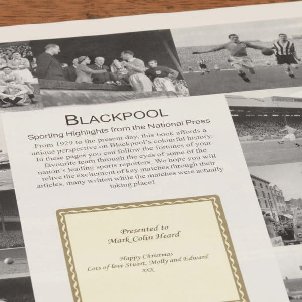 blackpool football book